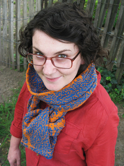 fiona and amen break scarf